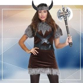 Disfraces vikingos para fiestas temáticas