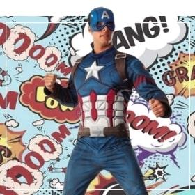 Disfraces de Capitán América