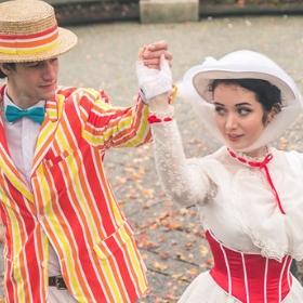 Compra online los disfraces más originales de Mary Poppins y sus personajes