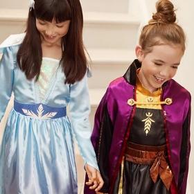 Compra online los disfraces más originales de Elsa y Anna y sus personajes