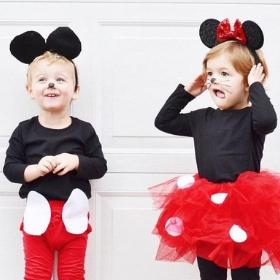 Compra online los disfraces más originales de Mickey y Minnie Mouse