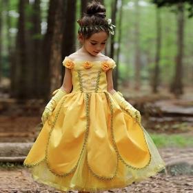 Disfraz de Princesa Bella para niña y mujer