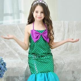 Disfraz de La Sirenita para niña y mujer