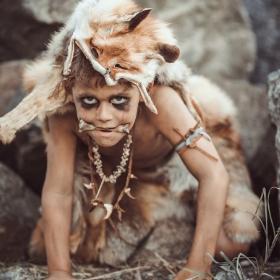 Disfraces de cavernícolas para fiestas y Carnaval