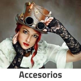 Complementos para disfraces y accesorios de Carnaval