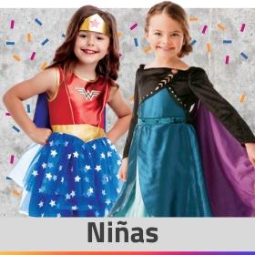 Tienda online de disfraces para niñas