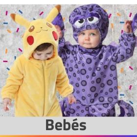 Ideas para disfrazar a bebés con trajes originales de Carnaval