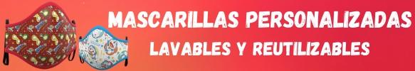 Compra mascarillas reutilizables personalizadas