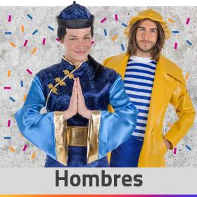 Compra disfraces para hombre en Valencia