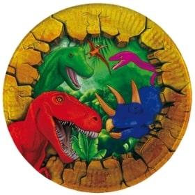 Decoración para cumpleaños de Dinosaurio