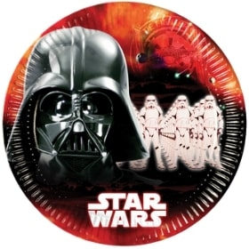 Decoración para cumpleaños de Star Wars