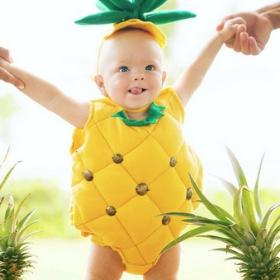 Disfraz de Fruta para niña y niño
