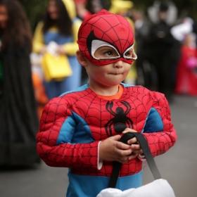 Disfraz de Superhéroe para niña y niño