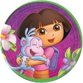 Decoración para cumpleaños de Dora la Eploradora