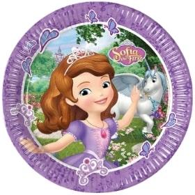 Decoración para cumpleaños de Princesa Sofía