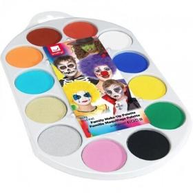 Maquillajes al agua de todos los colores