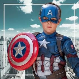 Disfraces de Capitán América para fiestas y Carnaval