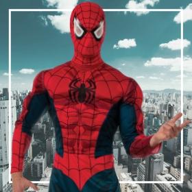 Disfraces de Spiderman para fiestas y Carnaval
