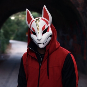 Máscaras de videojuego Fornite para disfrazarte en Halloween