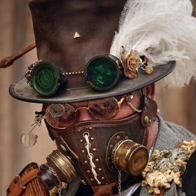 Máscaras de Steampunk para disfrazarte en Halloween