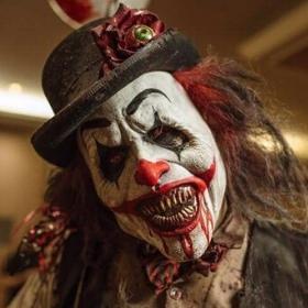 Máscaras de Payasos diabólicos para disfraz de Halloween