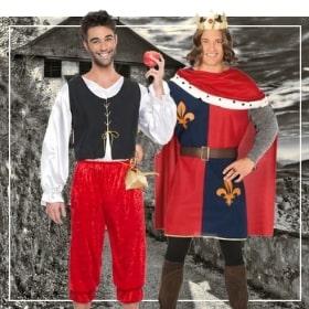 Disfraces medievales hombres