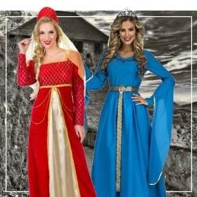 Disfraces medievales mujeres