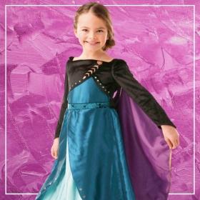 Compra online los disfraces de Elsa y Anna Frozen para niñas más originales