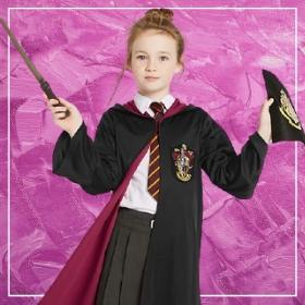 Compra online los disfraces de Harry Potter para niñas más originales