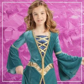 Compra online los disfraces Edad Media para niñas más originales