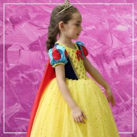 Compra online los disfraces de Princesas Disney para niñas más originales