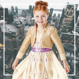 Disfraces de princesa niña para fiestas y Carnaval