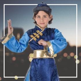 Disfraces de ninja niño para fiestas y Carnaval
