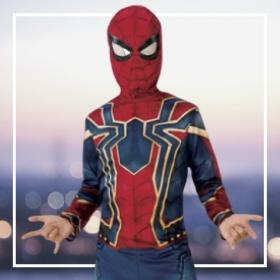 Disfraces de superhéroes niño para fiestas y Carnaval