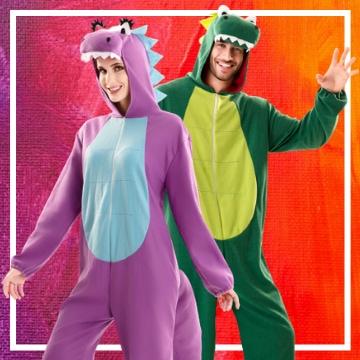 Tienda online de disfraces en pareja de animales
