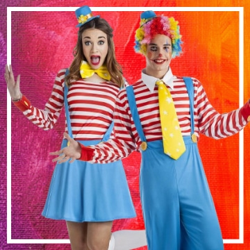 Tienda online de disfraces en pareja del circo