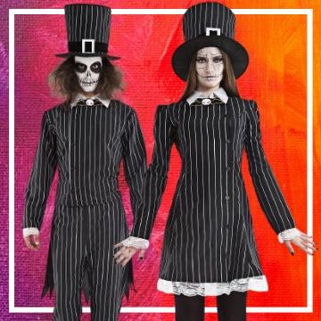 Tienda online de disfraces en pareja de Halloween