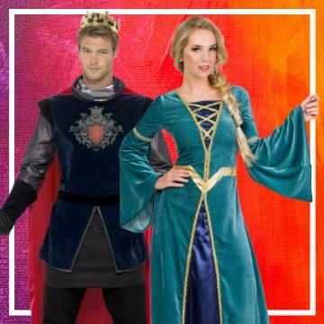Tienda online de disfraces en pareja de la Edad media