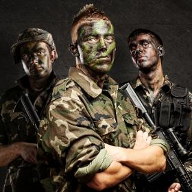 Disfraces de militar para fiestas y Carnaval