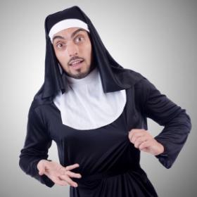 Disfraces de religioso para fiestas y Carnaval