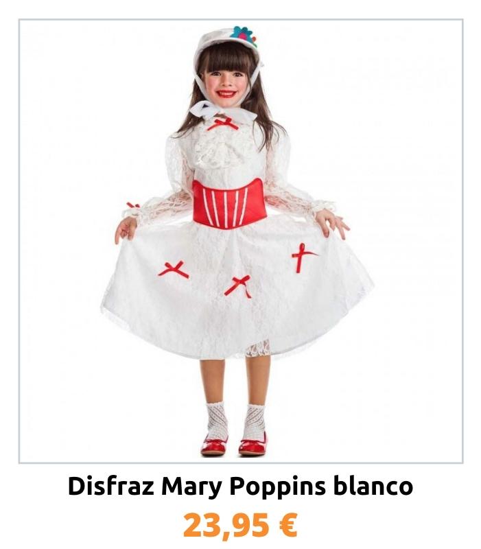 Compra el disfraz Mary Poppins para niña