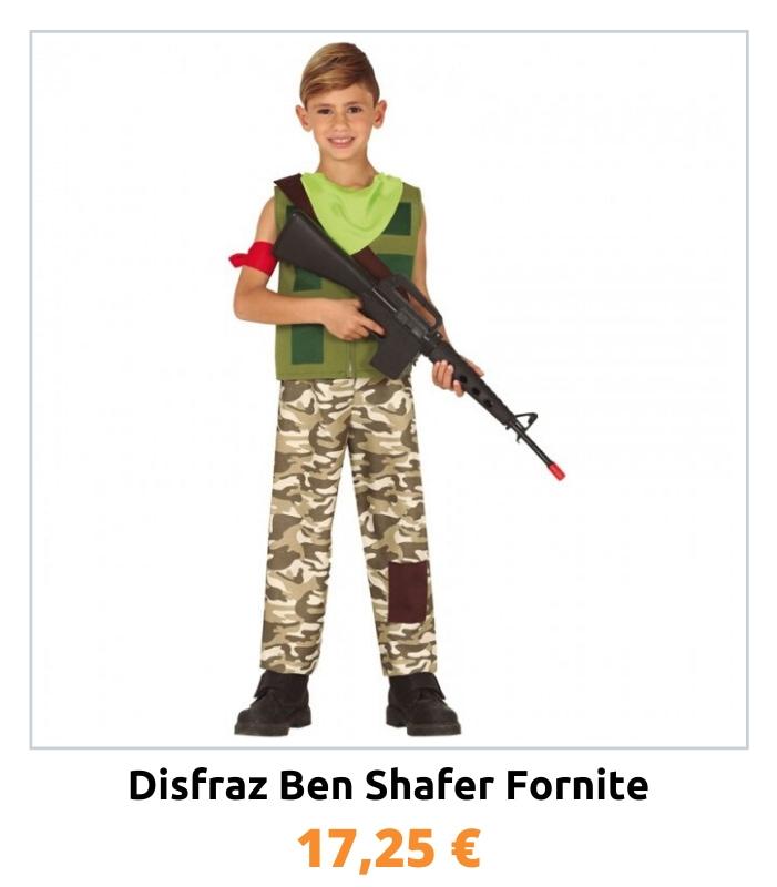 Compra el disfraz Ben Shafer Fortnite para niño