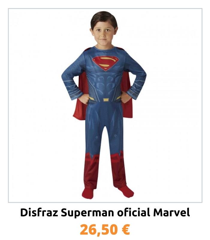 Compra el disfraz oficial Superman para niño