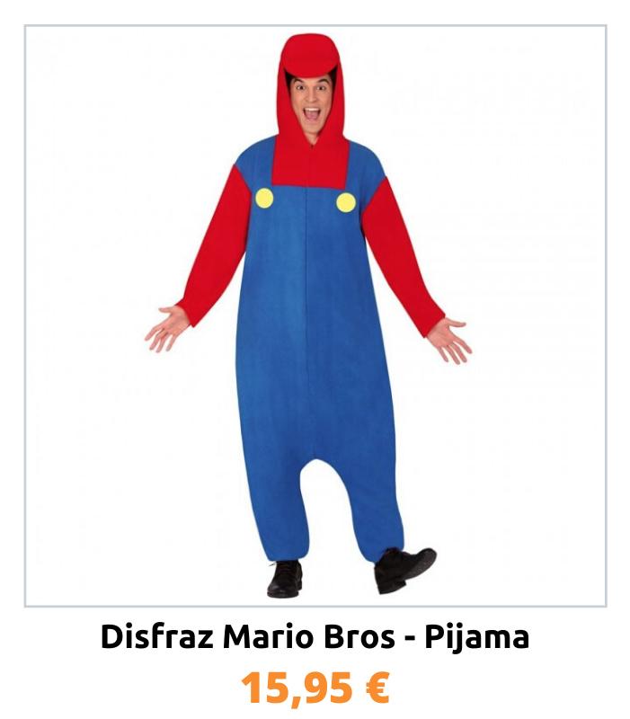 Compra el disfraz Mario Bros