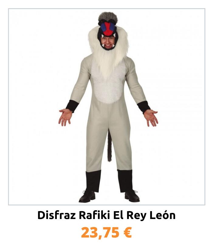 Compra el disfraz Rafiki