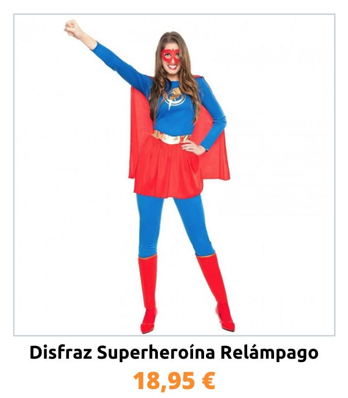 Compra el disfraz Superwoman
