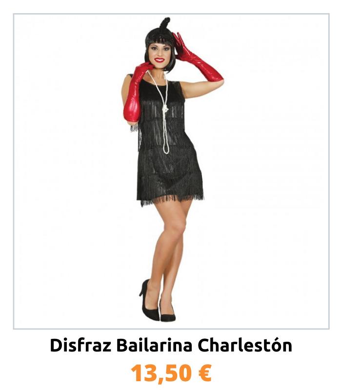Compra el disfraz de bailarina Charlestón