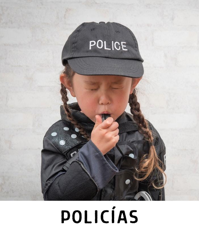 Compra disfraces de policías