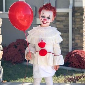 Disfraces de payasos diabólicos para Halloween y fiestas de miedo