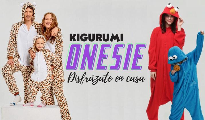 Disfraces kigurumi para hombres, mujeres y niños